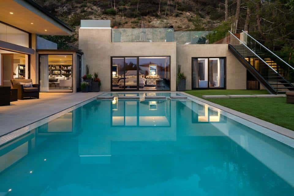 mau thiet ke biet thu co be boi dep ms001 - Các dự án thiết kế nhà biệt thự có bể bơi đẹp đã thực hiện