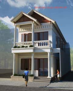 nha 2 tang mr khai0view 240x300 - Tư vấn thiết kế Nhà nhỏ 35 m2 theo phong thủy năm 2016