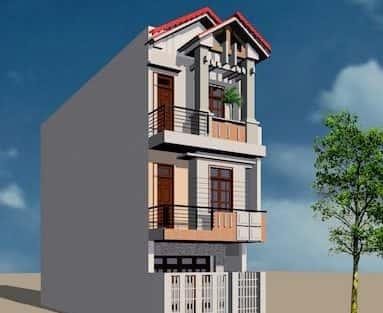 Thiết kế nhà 3 tầng anh Đoàn Ngọc Quang – Đà Nẵng