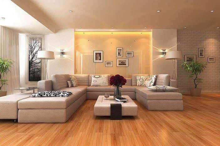phong khach dep face003 - 8 Mẫu thiết kế nội thất nhà phố cấp 4 đẹp và tiện nghi