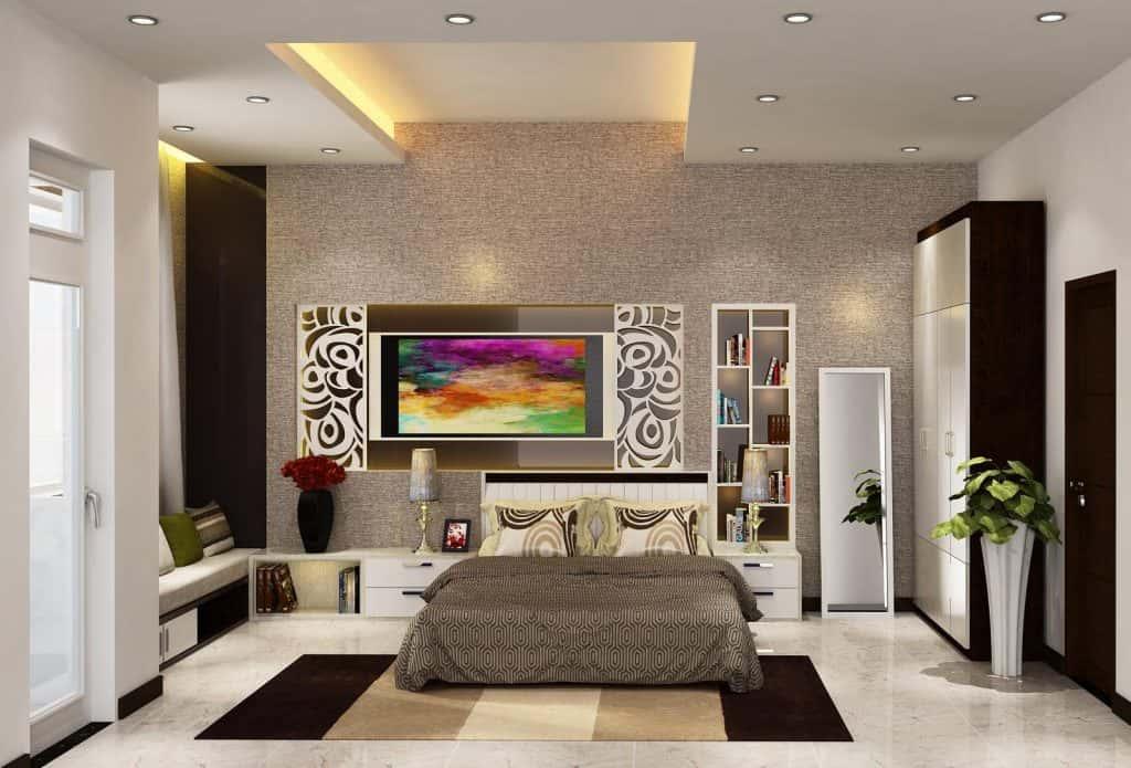 phong ngu da nang 1024x695 - Thiết kế nhà 3 tầng anh Đoàn Ngọc Quang - Đà Nẵng