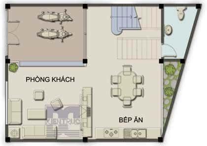 pn1n 974052 1388974367 - Thiết kế Nhà lệch tầng 5 x 13 m