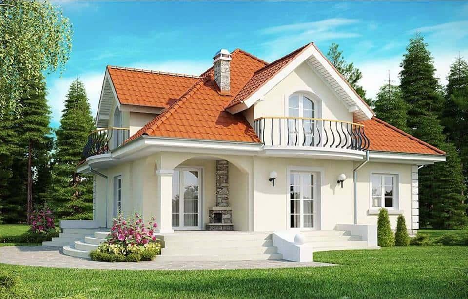 thiet ke biet thu vuon dep 9 8ms001 - Lý do của việc nên thuê thiết kế nhà
