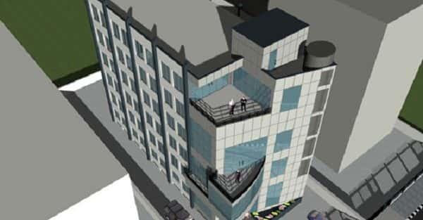 Thiết kế khách sạn mini ở tại Hải Dương