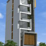 thiet ke khach san 001b 150x150 - Thiết kế khách sạn 9 tầng đẹp