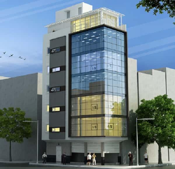 thiet ke khach san 001c - Thiết kế khách sạn 10 tầng đẹp