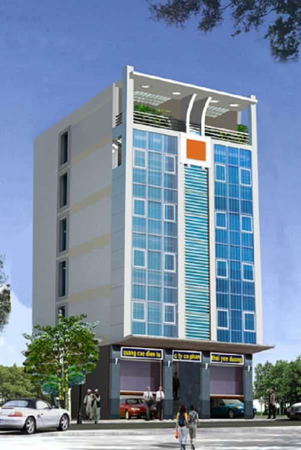 thiet ke khach san 001d - Thiết kế khách sạn 10 tầng đẹp