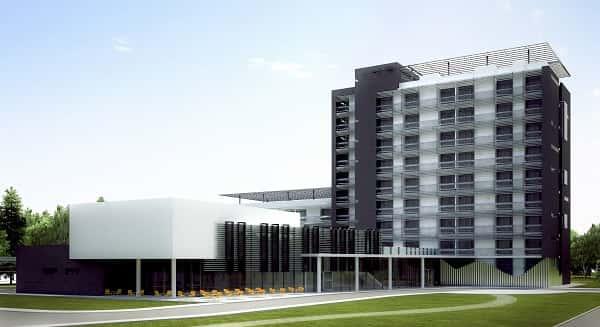 thiet ke khach san 001fd - Thiết kế khách sạn 9 tầng đẹp