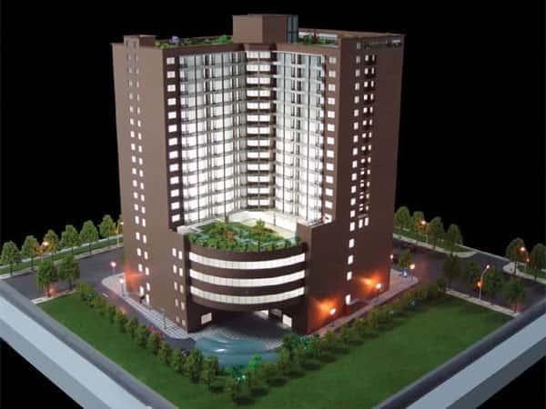 thiet ke khach san 001nm - Thiết kế khách sạn 10 tầng đẹp