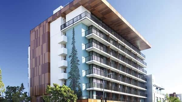 thiet ke khach san 001pol - Thiết kế khách sạn 9 tầng đẹp