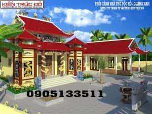 thiet ke nha tho ho toc da nang quang nam 300x225 - Thiết kế nhà thờ họ Hồ ở Đà Nẵng