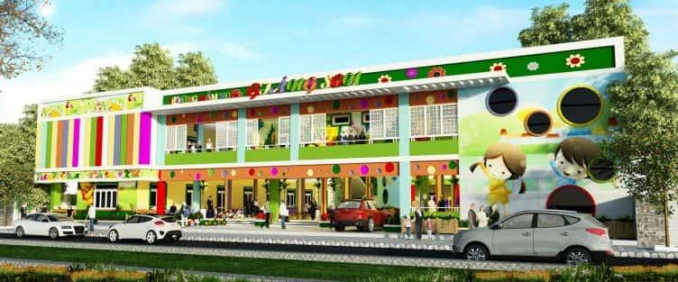 Thiết kế trường mầm non Giáng Son Đà Nẵng