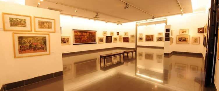 thiết kế nội thất phòng triển lãm