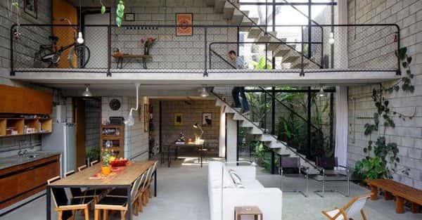 20 mẫu thiết kế nội thất nhà cấp 4 có gác lửng đẹp nhất