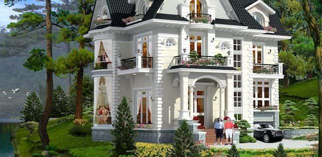 30 Mẫu thiết kế biệt thự đẹp