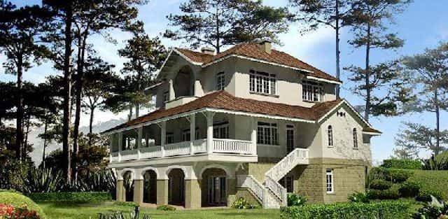 Tư vấn mẫu thiết kế nhà biệt thự vườn 2, 3 tầng
