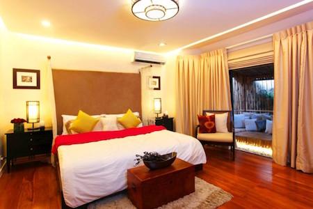 biet thu 2 tang 3 phòng ngu bt2t004 - Thiết kế nội thất phòng ngủ