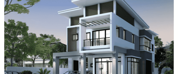 Thiết kế biệt thự 2 tầng hiện đại đẹp và sang trọng