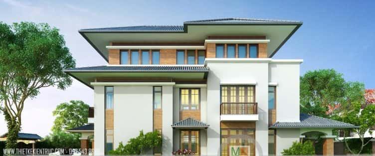 11 Mẫu thiết kế biệt thự hiện đại và đẹp