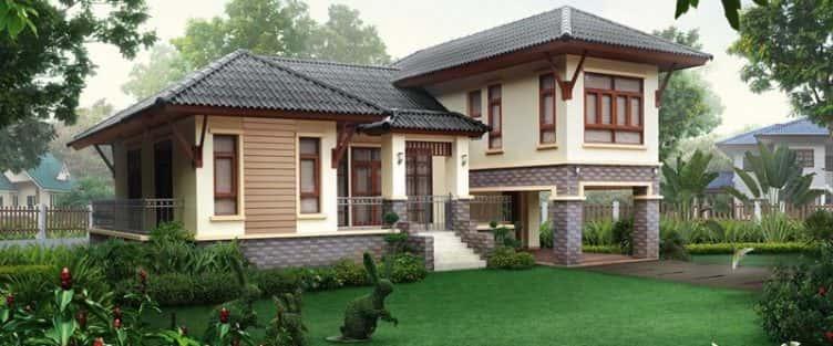 45 Mẫu thiết kế biệt thự kiểu Thái đẹp và sang trọng