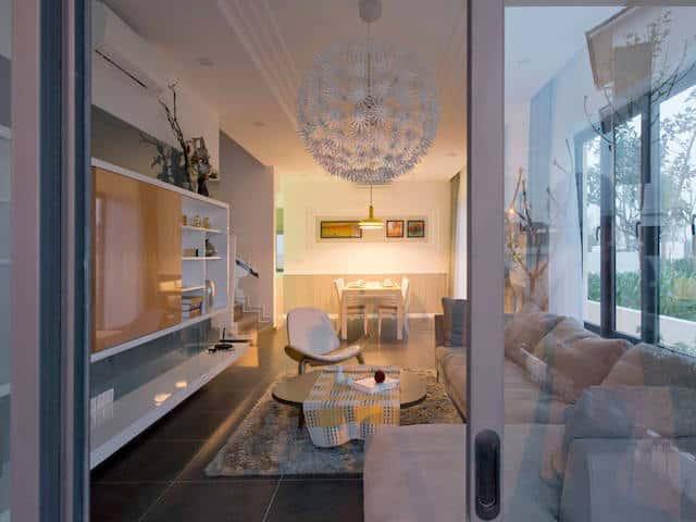 biet thu lien ke dep btlk001 phong khach - Thiết kế nội thất phòng khách - 4 bước đơn giản tạo nên không gian đẹp