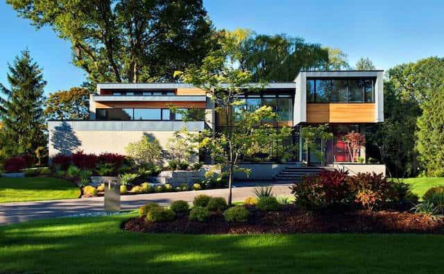 biet thu vuon dep btvd002 - Xây biệt thự sân vườn 450m đẹp với kiến trúc hiện đại