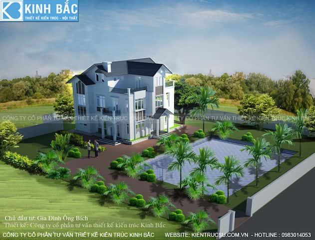 mau biet thu 3 tang dep bichhung yen btbhy006 - 30 Mẫu thiết kế biệt thự với kiến trúc hiện đại đẹp