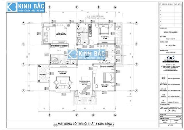 mau biet thu 3 tang dep bichhung yen btbhy007 - Thiết kế biệt thự 3 tầng ông Bích ở Yên Mỹ