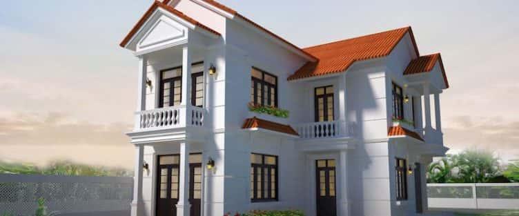 16 Mẫu thiết kế nhà 2 tầng đẹp