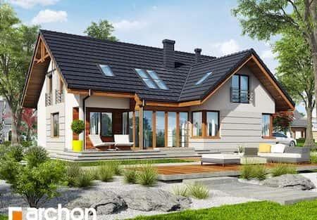 Ngôi nhà 2 tầng với phong cách hiện đại và nội thất sang trọng