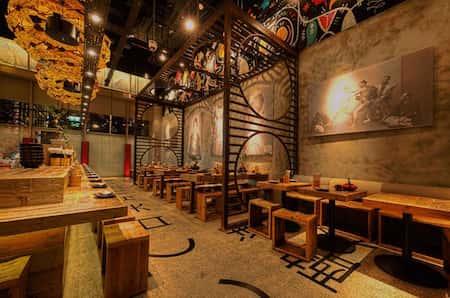 mau thiet ke nha hang nhat 1 - Thiết kế nhà hàng đẹp phong cách Nhật Bản