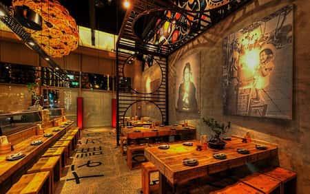 mau thiet ke nha hang nhat 11 - Thiết kế nhà hàng đẹp phong cách Nhật Bản