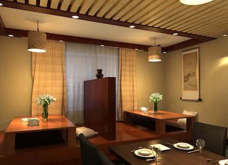 mau thiet ke nha hang nhat 13 - Thiết kế thi công nhà hàng đẹp sang trọng