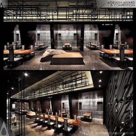 mau thiet ke nha hang nhat 16 - Thiết kế nhà hàng đẹp phong cách Nhật Bản