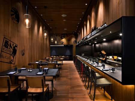 mau thiet ke nha hang nhat 2 - Thiết kế thi công nhà hàng đẹp sang trọng