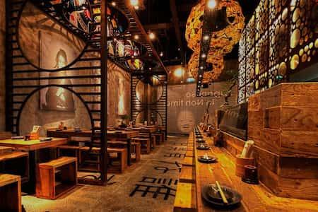 mau thiet ke nha hang nhat 3 - Thiết kế nhà hàng đẹp phong cách Nhật Bản