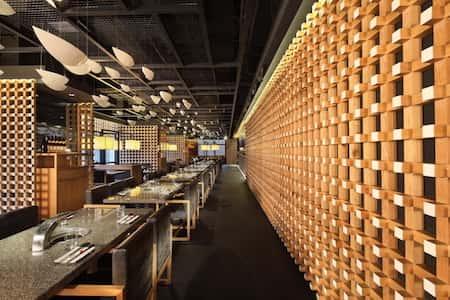 mau thiet ke nha hang nhat 6 - Thiết kế nhà hàng đẹp phong cách Nhật Bản