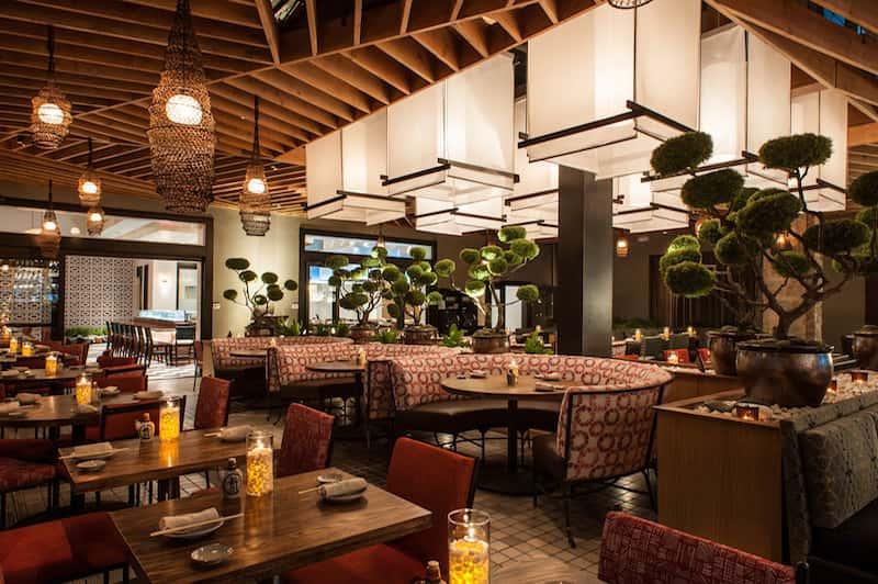 Thiết kế nhà hàng đẹp phong cách Nhật Bản