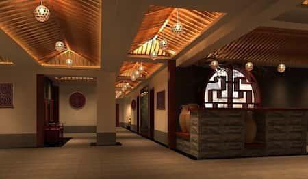 mau thiet ke nha hang trung quoc 10 - Thiết kế nhà hàng đẹp phong cách Trung Quốc