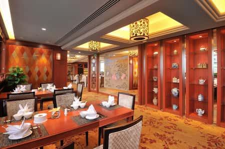 mau thiet ke nha hang trung quoc 11 - Thiết kế nhà hàng đẹp phong cách Trung Quốc