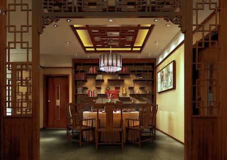 mau thiet ke nha hang trung quoc 12 - Thiết kế nhà hàng đẹp phong cách Trung Quốc