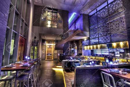 mau thiet ke nha hang trung quoc 14 - Thiết kế nhà hàng đẹp phong cách Trung Quốc