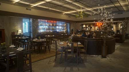 mau thiet ke nha hang trung quoc 15 - Thiết kế nhà hàng đẹp phong cách Trung Quốc