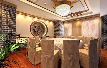 mau thiet ke nha hang trung quoc 17 - Thiết kế nhà hàng đẹp phong cách Trung Quốc