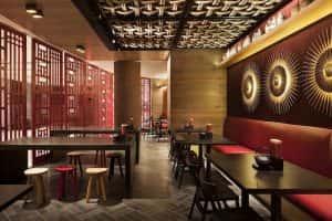 mau thiet ke nha hang trung quoc 2 300x200 - Thiết kế nhà hàng đẹp phong cách Trung Quốc