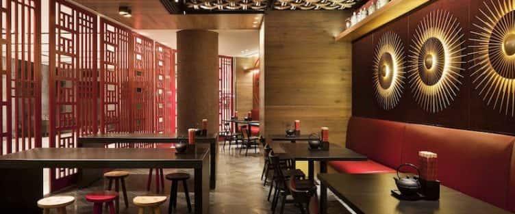 Thiết kế nhà hàng đẹp phong cách Trung Quốc