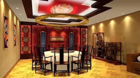 mau thiet ke nha hang trung quoc 4 - Thiết kế nhà hàng đẹp phong cách Trung Quốc
