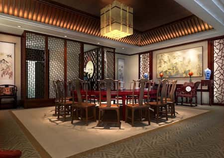 mau thiet ke nha hang trung quoc 6 - Thiết kế nhà hàng đẹp phong cách Trung Quốc