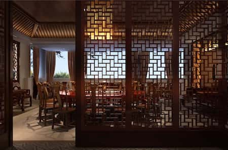 mau thiet ke nha hang trung quoc 9 - Thiết kế nhà hàng đẹp phong cách Trung Quốc