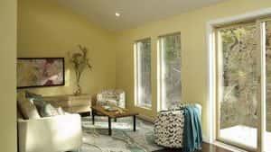 nha 1 tang vung nong thoi mai thai dep 6 300x169 - Nhà 1 tầng ở vùng nông thôn miền núi đẹp với 3 phòng ngủ
